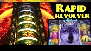getlinkyoutube.com-NORTHERN TREASURE slot machine Rapid Revolver feature BONUS WINS! (2 videos)
