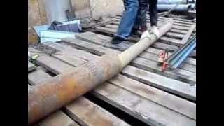 getlinkyoutube.com-Изготовление опалубки для круглых столбов