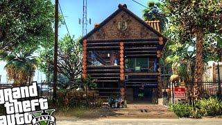 getlinkyoutube.com-Custom Trevor's Log House - GTA 5 PC MOD