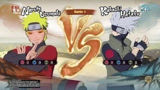 getlinkyoutube.com-Naruto ( Sage Mode ) vs Kakashi