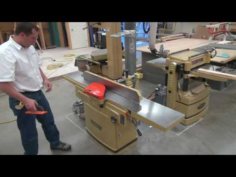 How to use the Powermatic 1285 Jointer Youtube Thumbnail