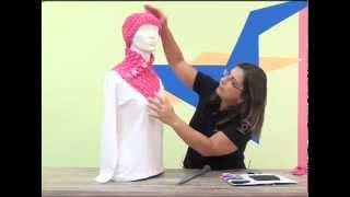 getlinkyoutube.com-Gorro e Gola Milena em trico peruano com Cisne Mota