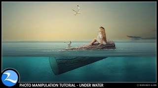 Surreal Fantasy Photoshop Manipulation Tutorial [Under Water]