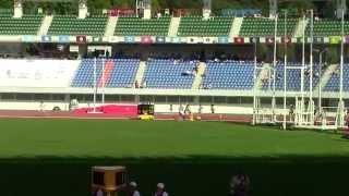 getlinkyoutube.com-2014 長崎国体陸上 少年男子共通800m 決勝 高校新記録 前田 恋弥