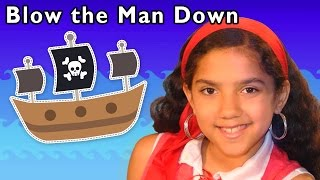 getlinkyoutube.com-Pirate Adventure Song | Blow the Man Down and More | Baby Songs from Mother Goose Club!