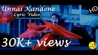 Unnai Kandane (Lyric Video) | Parijatham | Prithvi Raj | Dharan Kumar