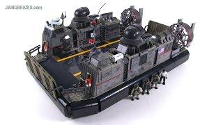 getlinkyoutube.com-Mega Bloks LCAC Call of Duty Signature Series Hovercraft review!