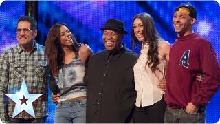 getlinkyoutube.com-Band of Voices acapella group sing 'Price Tag' | Week 6 Auditions | Britain's Got Talent 2013