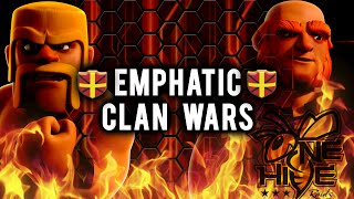 getlinkyoutube.com-Emphatic Elite vs Onehive | Full War Recap | Clash of Clans