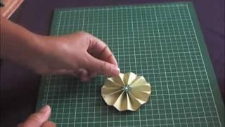 getlinkyoutube.com-Tutoriel embellissement cocarde en papier