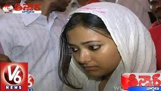 getlinkyoutube.com-'Swetha Basu Prasad' went back to her mother with court's verdict - Teenmaar News