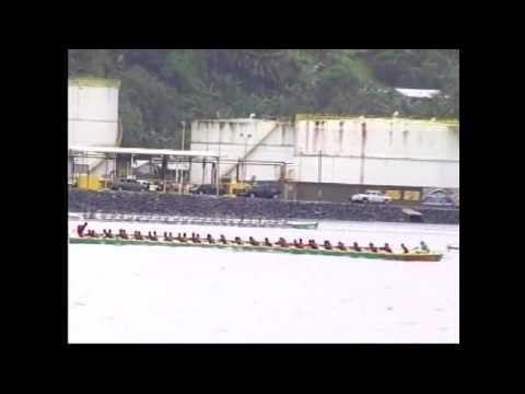 2010 American Samoa Flag Day Fautasi Race Pt.2