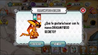 getlinkyoutube.com-Dragon City l El Mundo Ancestral l Como obtener al Dragon Fuego Secreto