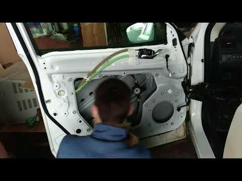 Шумоизоляция дверей Mazda CX 5