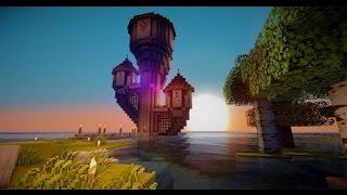 getlinkyoutube.com-Minecraft Pe 0.12.1 Shaders Realísticos E Monumentos Aquáticos (Concept)