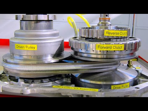 Continuously Variable Transaxle (CVT) Operation
