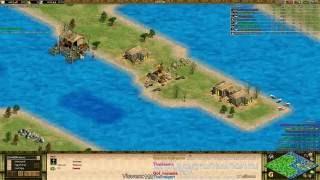 getlinkyoutube.com-AoE 2 - Unbelievable Regicide FFA Game!