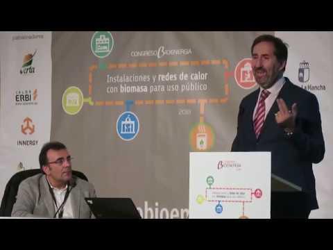 REBI SLU: Intervención de Alberto Gómez en el Congreso Bioenergía de Cuenca