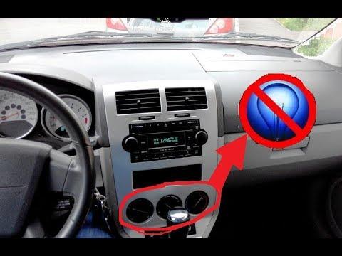 Подсветка блока печки Dodge Caliber 1.8 2007г