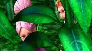 getlinkyoutube.com-2009 Barbie Thumbelina Movie Trailer
