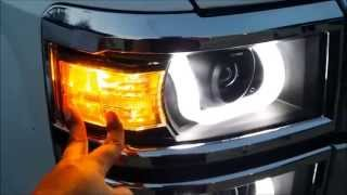getlinkyoutube.com-2014 Silverado Anzo Headlights