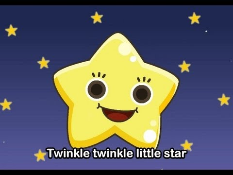 Twinkle Twinkle Little Star   | nursery rhymes & children songs with lyrics | muffin songs