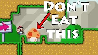getlinkyoutube.com-Super Mario Maker - Don't Eat The Funny Mushrooms