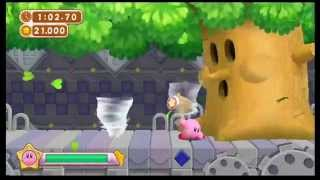 getlinkyoutube.com-Kirby's Dream Collection New Challenge Stages 100% Speedrun (1:02:36)