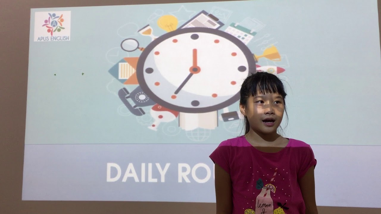 Mia - Diệu Anh - Topic: Daily routines