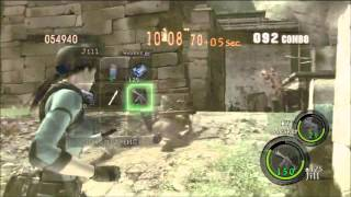 getlinkyoutube.com-[360] Ancient Ruins Duo 1,057,708 - Wesker/Jill [Resident Evil 5 - The Mercenaries]