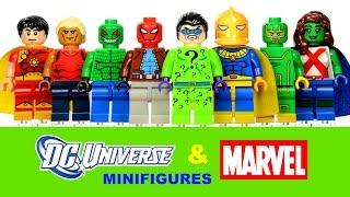 LEGO DC & Marvel Superheroes + Kick-Ass KnockOff Minifigures Set 19 Review