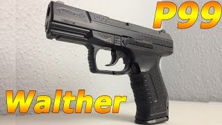 getlinkyoutube.com-Walther P99 Federdruck unter 0,5J / Softair Review, Deutsch, HD