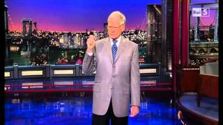 getlinkyoutube.com-Letterman - Monologue + Top 10 - 08 01 2014 - Sub Ita (Rai5)