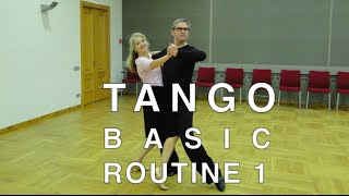 getlinkyoutube.com-How to Dance Tango - Basic Routine 1