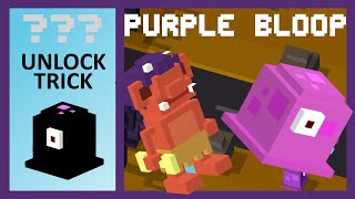 getlinkyoutube.com-CROSSY ROAD PURPLE BLOOP Unlock! | NEW Secret Characters of Christmas Update | Easy Unlock Trick!