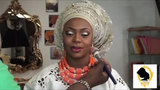 getlinkyoutube.com-DRESSING UP A NIGERIAN BRIDE