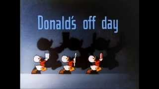"getlinkyoutube.com-Donald Duck - ""Donald's Off Day"" (1944) - recreation titles"