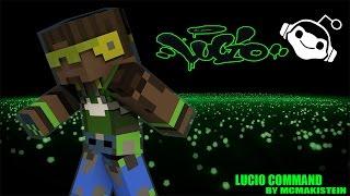 getlinkyoutube.com-[Review] Minecraft Command Block Lucio Overwatch ผมนี้ Drop The Beat เลย
