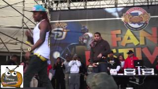getlinkyoutube.com-Lil Chuckee and Kevin Gates @ Bayou Classic 2012 YMCMB