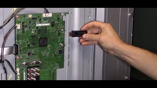 getlinkyoutube.com-How to fix TV main board with usb firmware update software guide