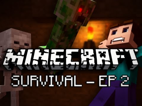 Minecraft: Survival Let's Play Ep. 2 - Home Tree