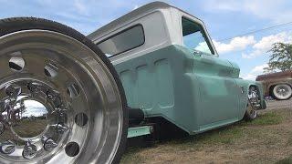 getlinkyoutube.com-Cummins Powered Turbo Diesel Dually Chevy C30 Pickup Truck