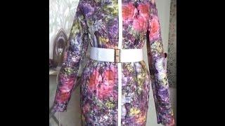 getlinkyoutube.com-#396.ч 2.пальто из стёганной плащёвки.Карман листочка,исправление дефекта