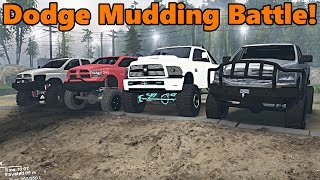 Spin Tires | Which Dodge is best for MUDDING?
