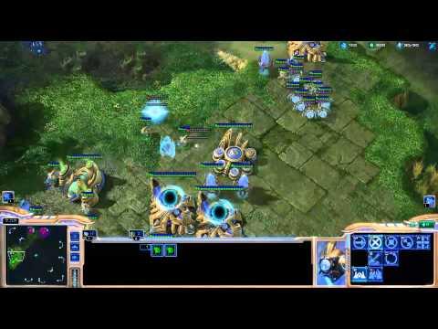 Destiny learning protoss (Placement Match 5) - Starcraft 2 Ladder