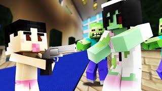 getlinkyoutube.com-Minecraft - WHO'S YOUR DADDY? - BABY BLOWS UP ZOMBIE HOSPITAL!
