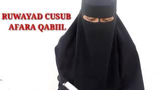 RIWAAYAD HALIS AH AFAARO QABIIL.