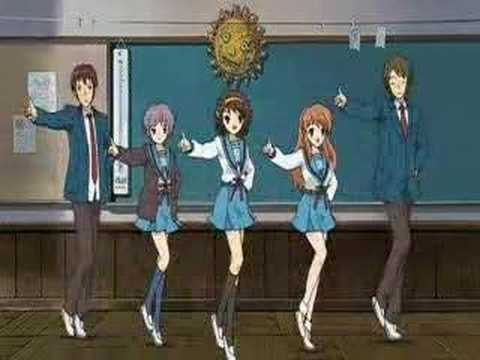 Suzumiya Haruhi ED Special Version quality up ver