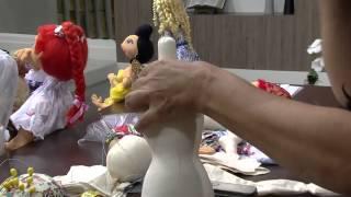 getlinkyoutube.com-Mulher.com 16/01/2015 Solange Schneider - Boneca esculpida algodão cru Parte 1/2