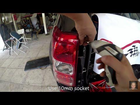 Suzuki Grand Vitara  How to replace rear tai light